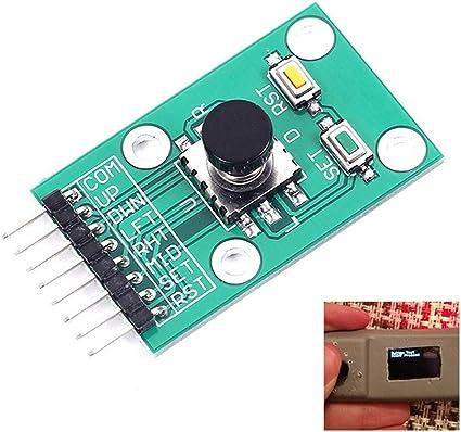 5Pcs Navigation Button Module 5D Rocker Joystick Single Keyboard for Arduino MCU