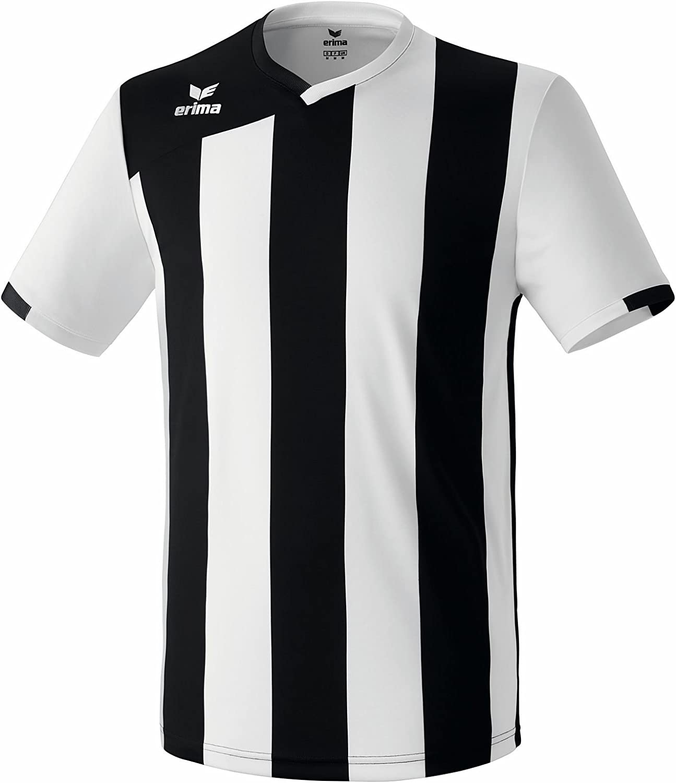 Erima T-Shirt de Sport Siena 2,0-Noir/Blanc