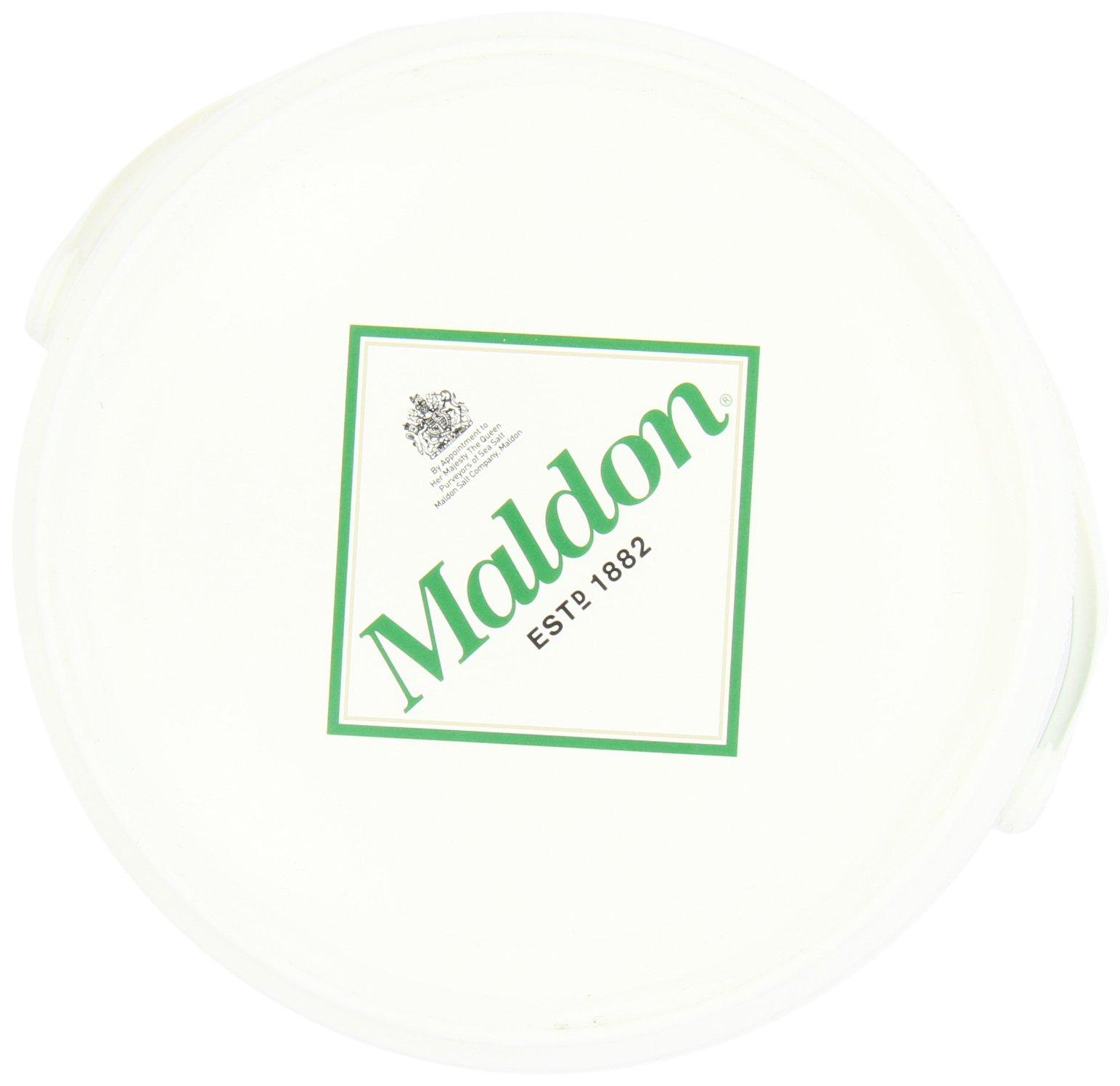 Maldon Sea Salt Flakes 1.5kg/3.3lbs Tub by Salt Traders (Image #7)