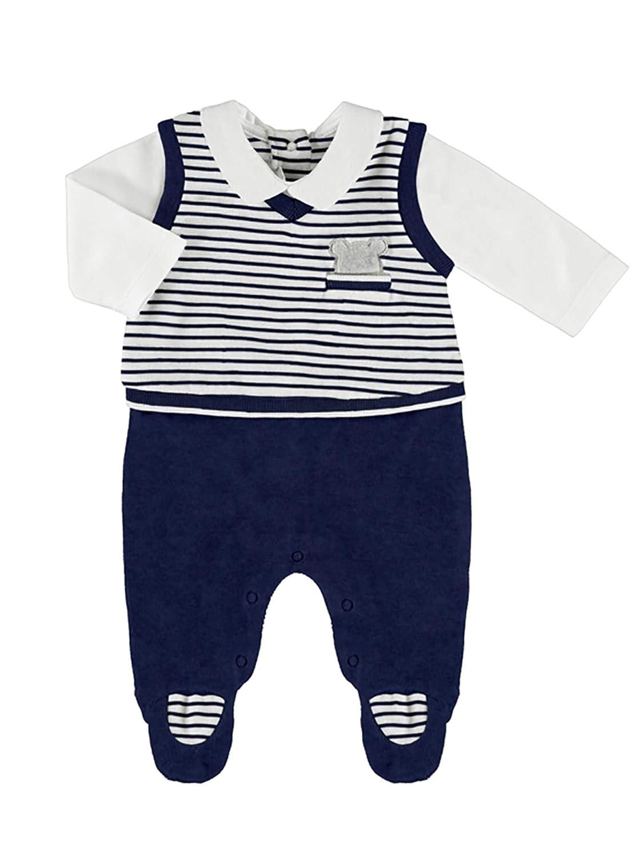 Mayoral Navy Babygrow for Baby-Boys 2602