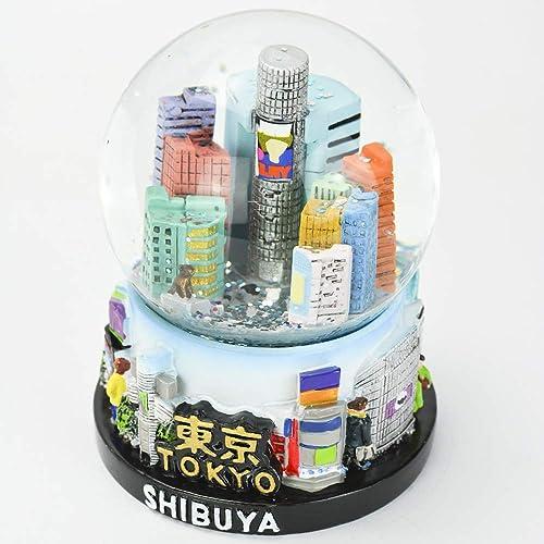 Musubi – Snow Globe Glitter SK0032 Tokyo Shibuya , 3.5 Tall