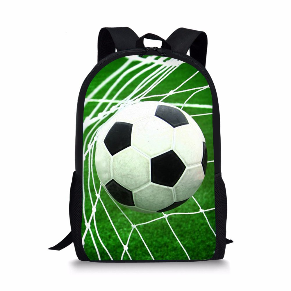 Nopersonality Children Kids Football Backpack Bagpack Hipster Child Boys Back Bag