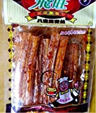 Domilove Chinese Special Spicy Snack Food: Gluten Wei Long La Tiao Fei Wang Ba Bao Li Qing Si Pack of 10 (飞旺八宝里青丝 30g X 10 Pack)