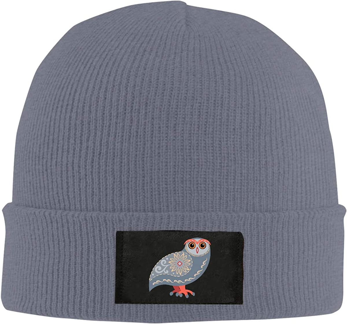 Owl Winter Knitted Hat Warm Wool Skull Beanie Cap
