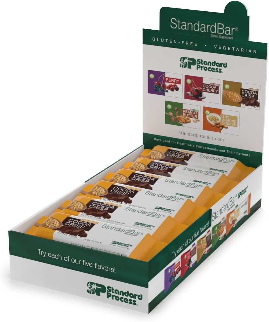 Standard Process – StandardBar – 18 Bar Pack – Cocoa Crisp