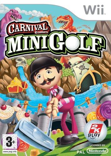 Carnival Funfair Games Mini Golf Wii Amazon Co Uk Pc Video Games