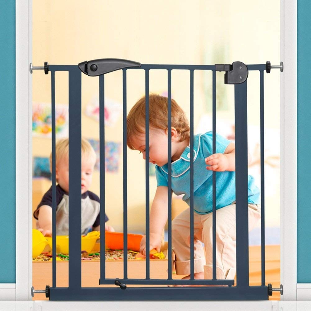 Huo Baby Gate Safety Pressure Fit Resin Baby Safety Gate to Fit Openings 75cm To160cm (Size : 141-149CM)