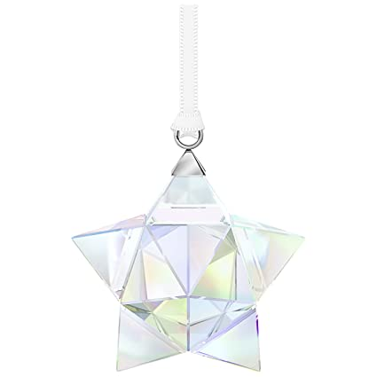 de3b0ad6048 Image Unavailable. Image not available for. Color: Swarovski Crystal Star  Ornament ...