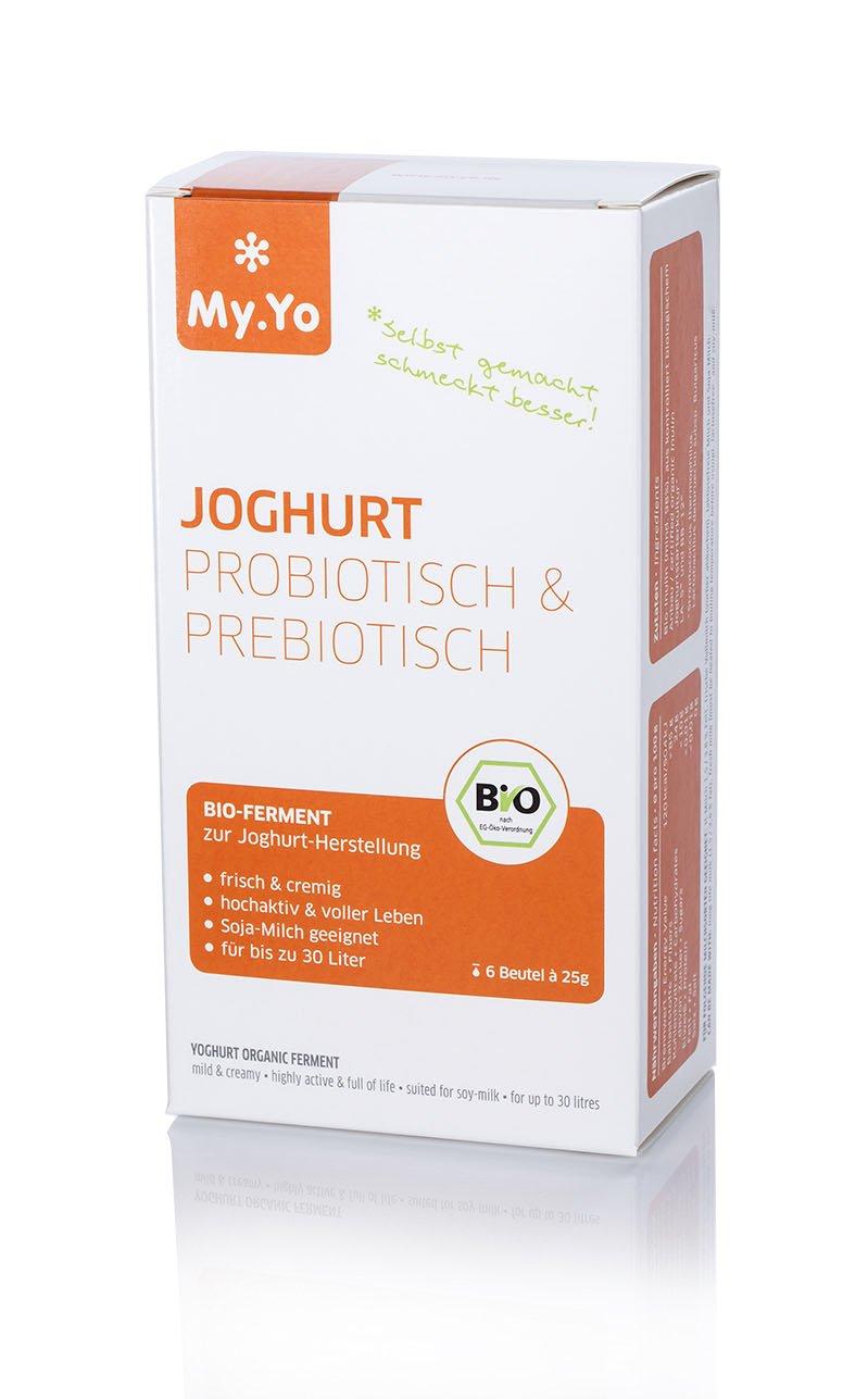 My Yo my yo joghurtpulver pro und prebiotisch joghurtferment zur