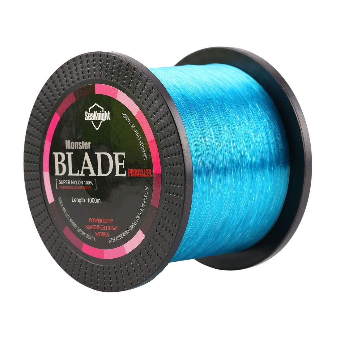 SeaKnight Blade Nylon Fishing Line 500M 1000M Japanese Material Monofilament Line Sea Fishing 2-35LB