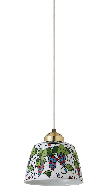 有田焼 ペンダントライト (50cmコード) ビートロ 葡萄 INT-201-2 B00V7GQKRS