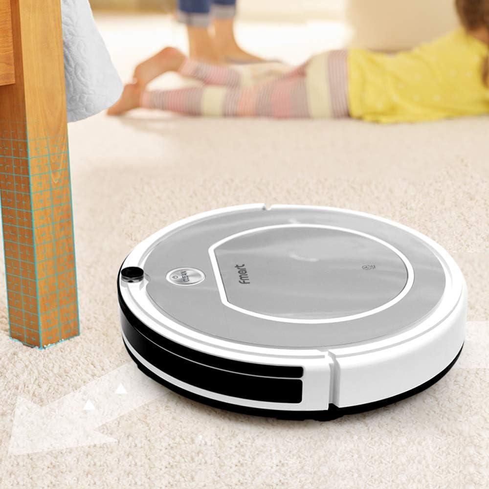 Fmart T1 Robot Aspirador de Limpieza del hogar Robot, Auto-Carga ...