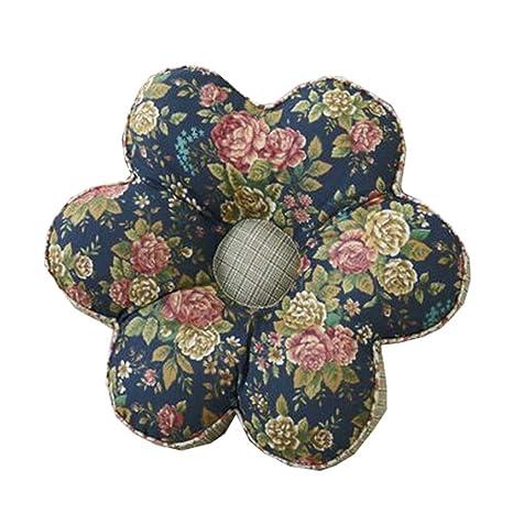 Black Temptation Yoga Bolster Tatami Floor Flower Cojín ...
