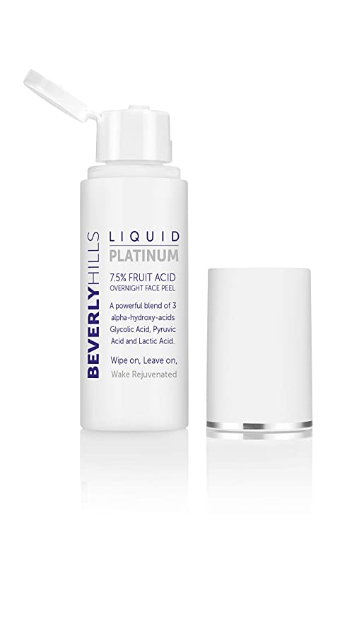Beverly Hills - Platino líquido - 7,5% pelador facial de ...