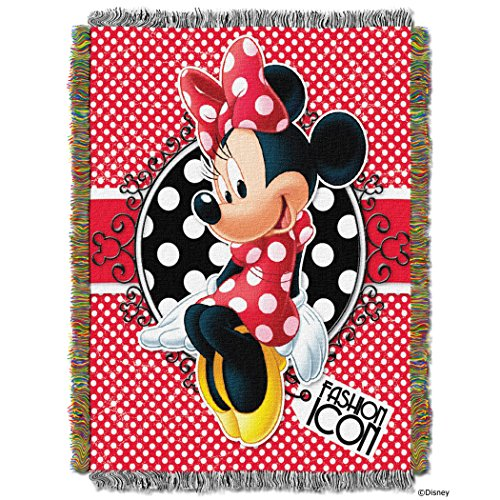 60 Tapestry Throw Blanket (Minnie Bowtique,
