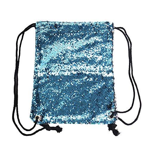 x Sac Yeshi doré x Blue porté 38cm dos 0 pour femme à 29cm 5cm au main Silver v78rWd17