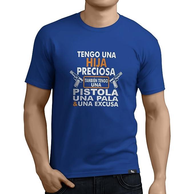 884aa47546e9d Tuning Camisetas - Camiseta Divertida para Hombre - Modelo  Tengounahijapreciosa  Amazon.es  Ropa y accesorios