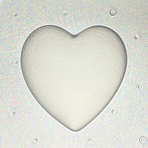 Flexible Resin or Chocolate Mold Large Bubble Heart 2