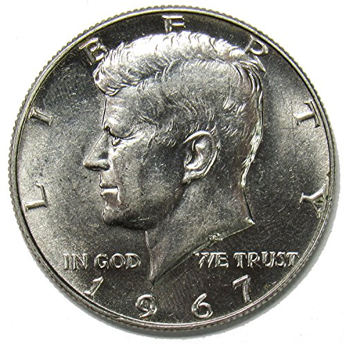 1967 P 40% Silver Kennedy Half Dollar 50¢ Brilliant Uncirculated