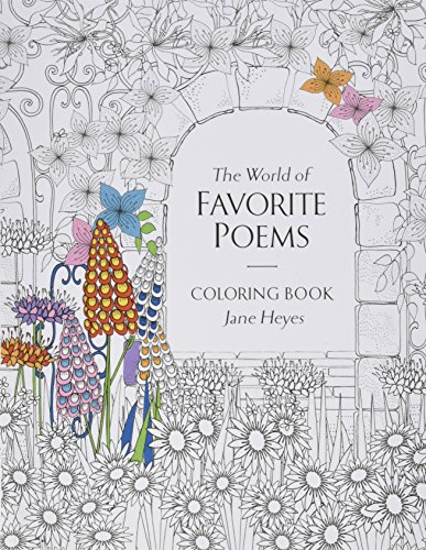 Babalu Adult The World of Favorite Poems Coloring Book, 8