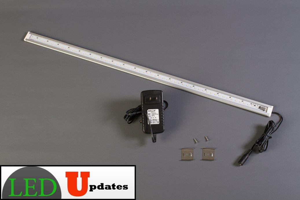 LEDupdates 24 inches Under Cabinet LED light for work shop & closet with UL Power adapter by LEDUPDATES (Image #7)