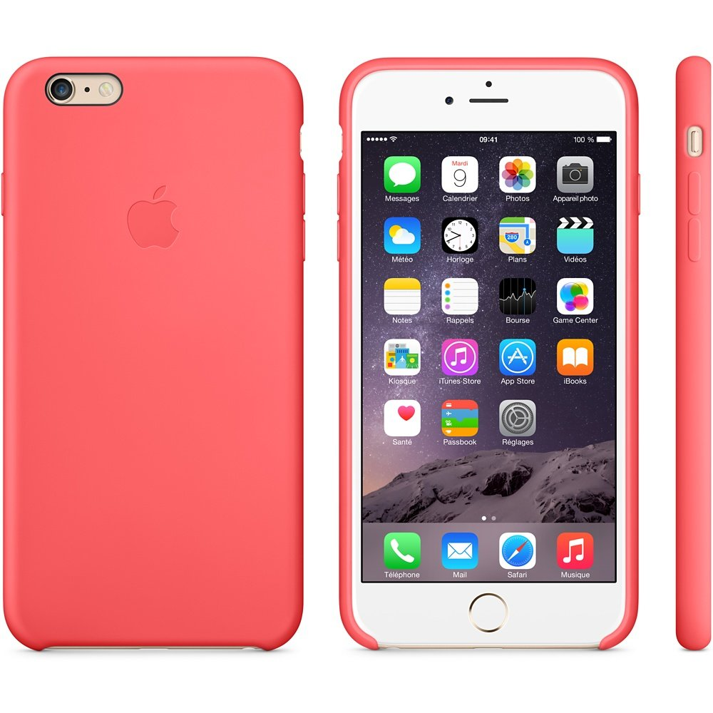 coque iphone 6 silicone rose