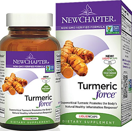 New Chapter Turmeric ForceTM -- 120 LiquidVcaps (Purity Products 120 Capsules)