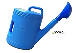 KR STORE(TM) 5 Liter Garden Plants Watering Can, Blue / 5-Liter Premium High-Grade Plastic Watering Can/Gardening Tools/Handle for Extra Durability