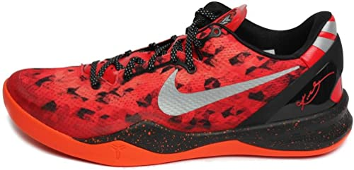 Beneficiario obra maestra Él  Nike Kobe 8 System 555035 600 – Red Red Size: 13.5: Amazon.co.uk: Shoes &  Bags