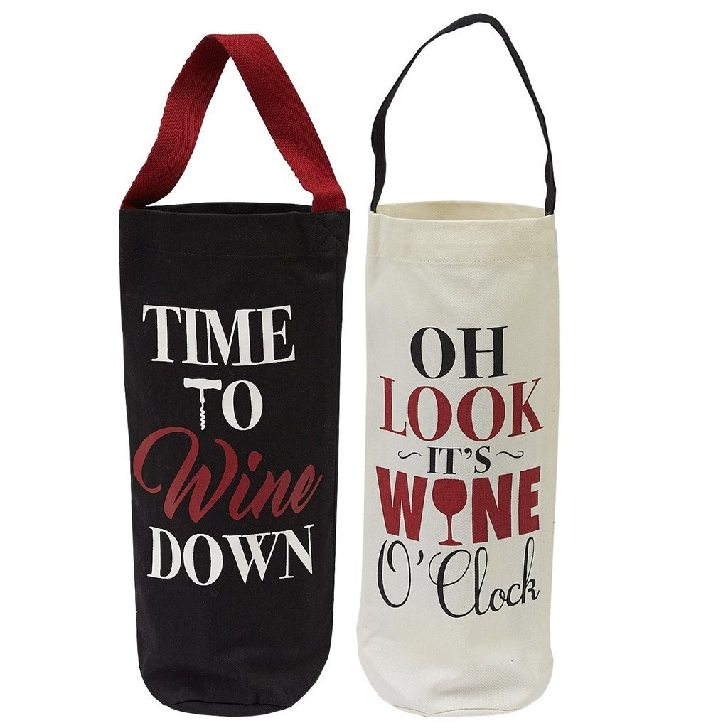 Heart of America 2 Assorted Wine Cellar Wine Bags - 2 Pieces