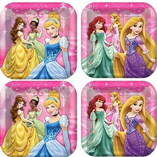 Disney Very Important Princess Dream Party Dinner Plates.