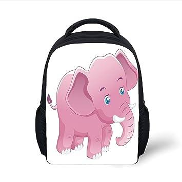 Amazon.com  iPrint Kids School Backpack Elephant Nursery Decor ba9ae6a8a0fb0
