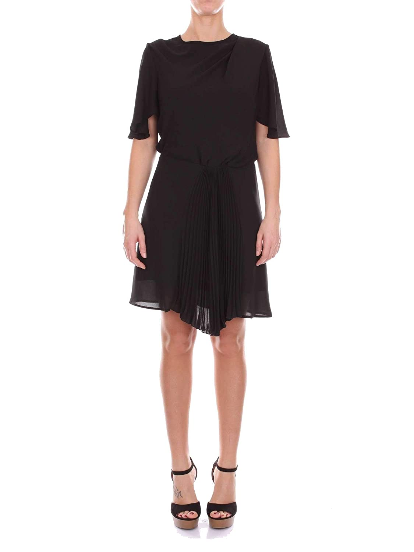 Merci Women's A460BLACK Black Viscose Dress