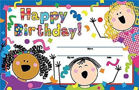 Creative Teaching Press Stick Kids Happy Birthday!