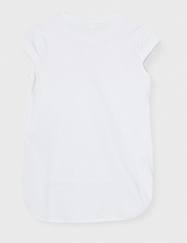 Mek T-Shirt Lunga con Paillettes Bambina
