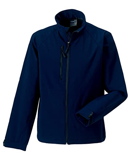 Russell soft shell jacket in navy Size XS