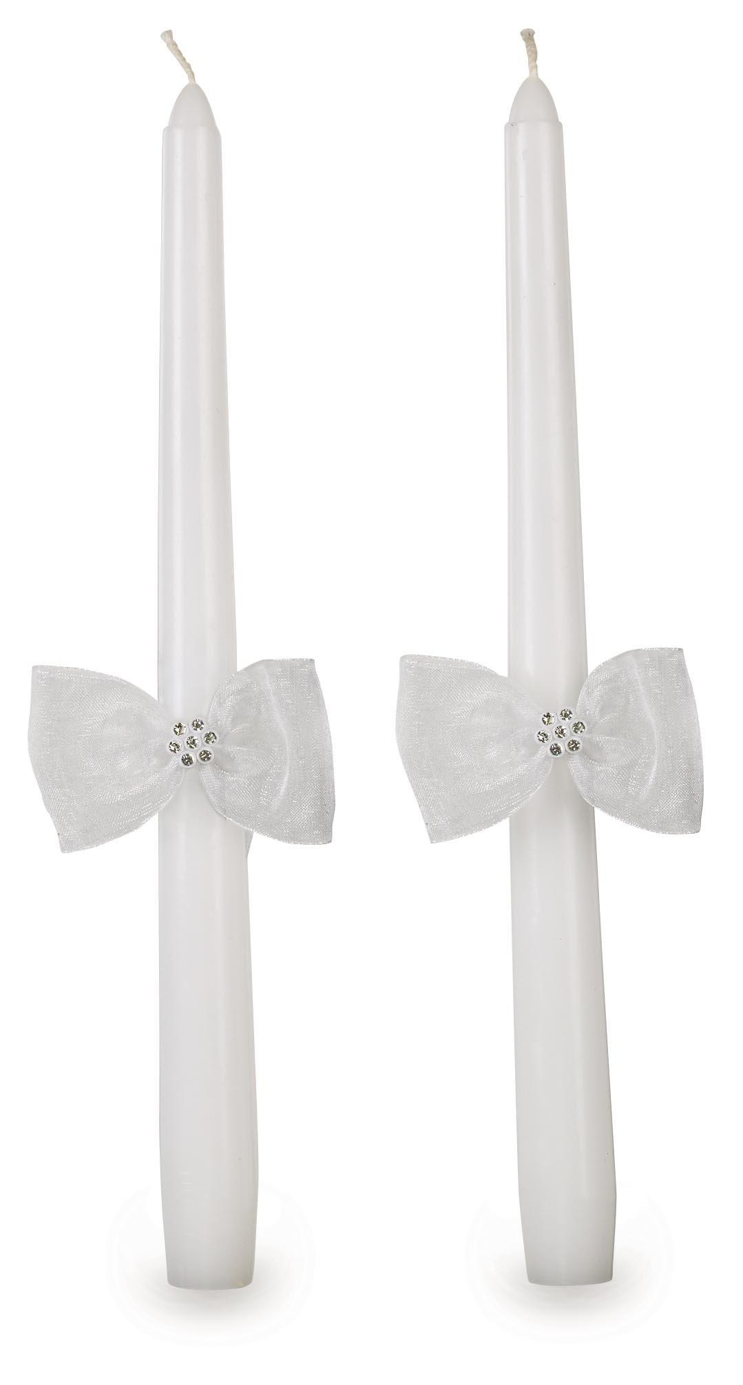 Wilton Graceful Wedding Day Collection Unity Candle and Taper Candles Set by Wilton (Image #2)