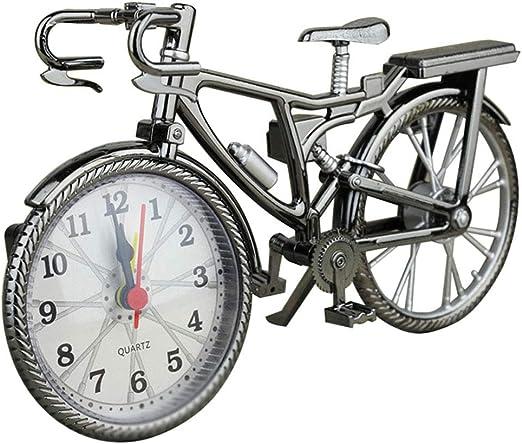 Lanceasy - Reloj Despertador con Forma de Bicicleta para ...