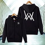Nedal Cotton Fleece Alal Walker Sweatshirt Black