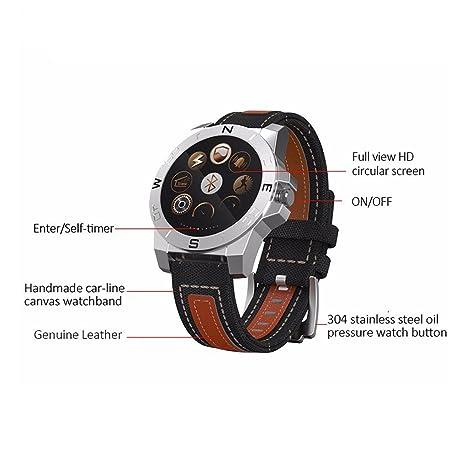 Pinkbenmus - Reloj Deportivo GPS / Cámara remota, Smart Watch Con ...