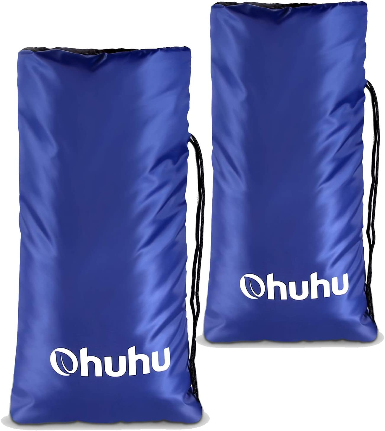 """Ohuhu Outdoor Faucet Cover for Freeze Protection, 2-Pack Winter Heavy Duty Faucet Protector Cover 19.5"""" x 10"""" Antifreeze Tap Cover, Outside Garden Lawn Faucet Socks Spigot Cover"""