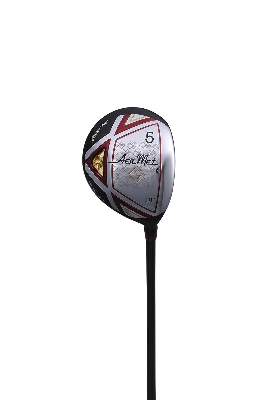 最愛 Roots Golf(ルーツゴルフ) アーメットG アーメットGフェアウェイウッド アーメットGシャフト 右利き用 ロフト角:18° 番手:5W フレックス:SR   B01BW9AMW8, 株式会社ハンコヤドットコム(R) e3d136ce