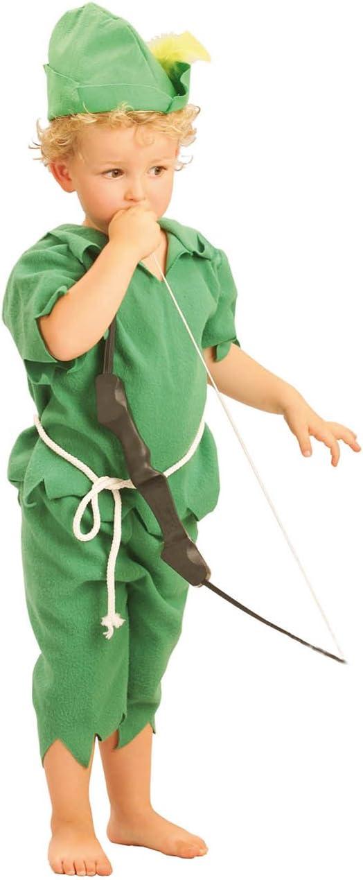 El Carnaval Disfraz Peter Pan Bebe Talla 2-4 años: Amazon.es ...