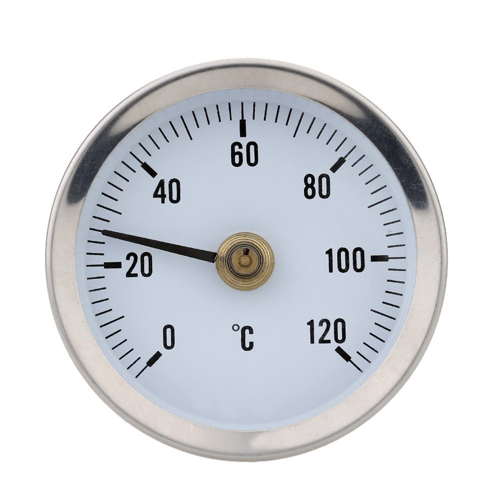 MagiDeal TS W50A 0 120 Degrees Bi Metal Stainless Steel Surface Thermometer