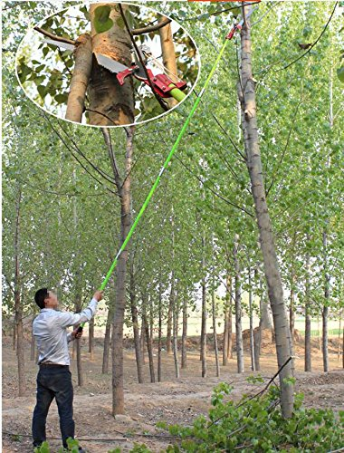 26 Foot Length Tree Pole Pruner Tree Saw Garden Tools Loppers Hand Pole Saws by Home Garden Tools