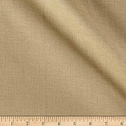 Amazon.com: Tela de mezcla de lino europeo de calidad de ...