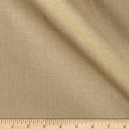 European Linen Fabric (European Linen Blend Light Tan Fabric By The Yard)