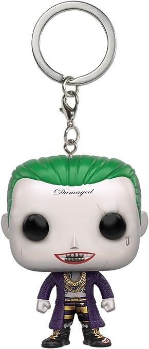 Amazon.com: Funko POP Llavero: Suicide Squad – Joker Figura ...