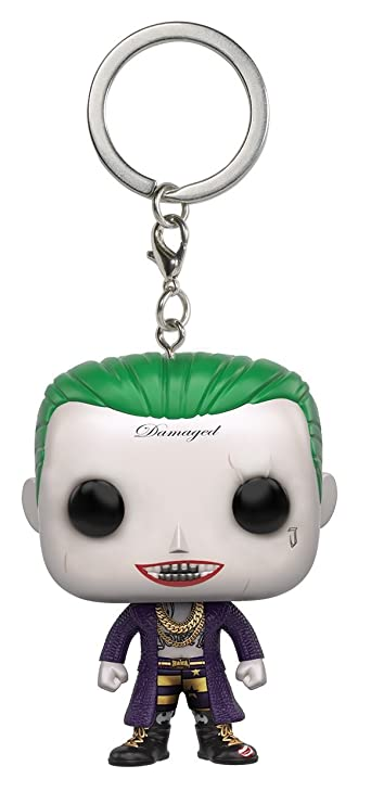 Funko POP Keychain: Suicide Squad - Joker Action Figure