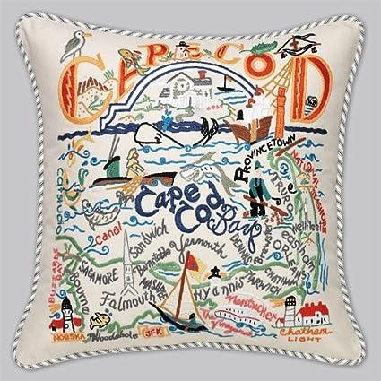 Amazon Cape Cod Pillow Home Kitchen Awesome Cape Cod Decorative Pillows